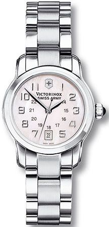 Swiss Army Vivante Pink Mother of Pearl Stainless steel Ladies Watch 241056 BY Swiss Army