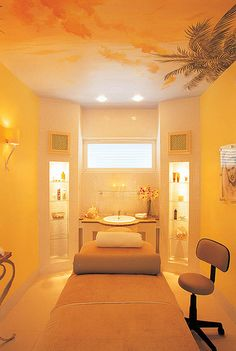 Indulgence Spa, Royal Westmoreland, Barbados || Day spa || massage therapy room || esthetician room || aesthetician room || esthetics || skin care || body waxing || hair removal || body scrub || body treatment room