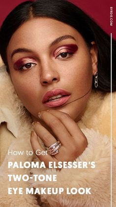 How to get the two-tone eye makeup look