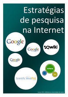 Tutorial sobre estratégias na Internet: Google, ISI Web Plus, Sciverse Hub, Qwiki.