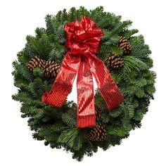 Christmas Gleam Wreath.