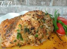 The Pleshette-Salmon with Crabmeat Stuffing by Cooking with Love & Passion