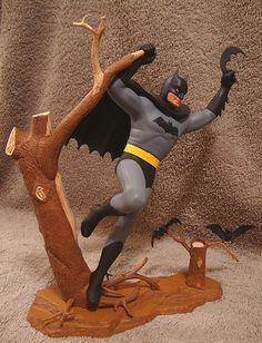 Batman model kit. I had one very similar.