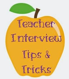 This is a VERY good post if you are looking to land a teaching job or even just reflect on why you teach. I LOVED this!