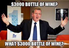 NSW Premier Barry O'Farrell resigns.   Source: http://www.abc.net.au/news/2014-04-16/barry-o27farrell-to-resign-as-nsw-premier3a-live-blog/5393786  #australia   #auspol   #barryofarrell   #icac #nickdigirolamo