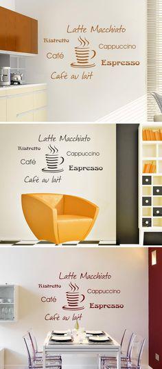 Café Zeit Wandtattoo von Wandtattoo Wandtattoo Kaffee Motive - wandtattoos küche kaffee