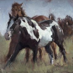 "Richard Schmid New Paintings | Jill Soukup ""Rambling Rouser"" 13.5 x 13.5 oil"