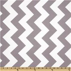 backing for mike's quilt  Riley Blake Chevron Large Grey