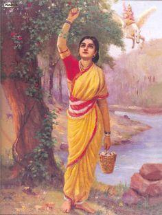 Krishna Yashoda , Raja Ravi Varma ,