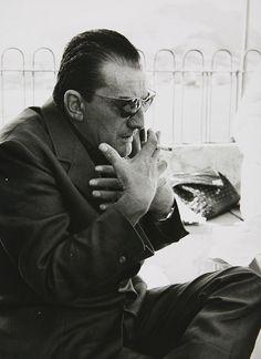 Luchino Visconti, photographed by Nicolas Tikhomiroff