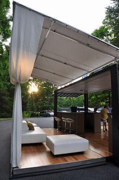 Lounge Party de contenedores de transporte - Studios Boxman