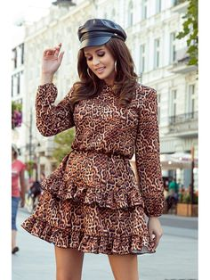 European Fashion, Unique Fashion, Womens Fashion, Frill Dress, Mini Vestidos, Pajamas Women, Stunning Dresses, Day Dresses, Mini Dresses