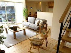 北欧スタイルのナチュラルコーディネートしたLD空間をご紹介!内装と絶妙なバランスで合わせました  家具なび ~きっと家具から始まる家づくり~