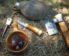 #kuksa #axe and #puukko #bushcraft #wildcamping #nature #instalike #camp…