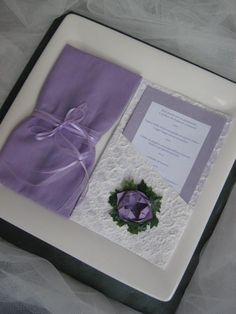 Lotus Flower Wedding - Mise en place