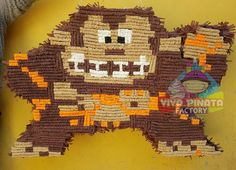 #DonkeyKong #Pixel 🎊🐒 en #VivaPiñataFactory podrás encontrar las únicas piñatas Pixel de tus juegos favoritos. Pidelas con anticipación 🎮🕹