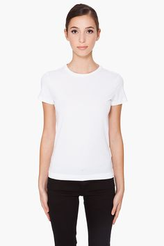 Y 3 Crewneck T shirt, $45.00 | www.findbuy.co/store/ssense #Y3