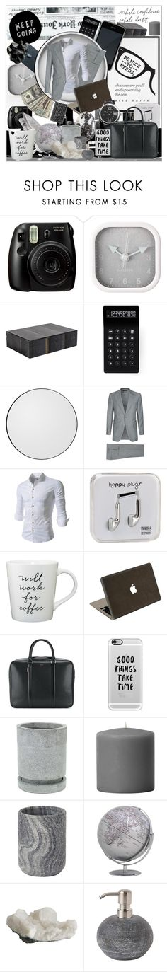 """Be Nice to Nerds, Chances are You'll End up Working for One"" by alightinthedarkwood ❤ liked on Polyvore featuring Fujifilm, Karlsson, LEXON, AYTM, Tom Ford, Happy Plugs, Jamie Clawson, Paul Smith, Casetify and Aquanova"