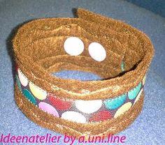 Ideenatelier by a.line: Knipsi - Armband Uni, Bracelets, Jewelry, Wristlets, Jewlery, Jewerly, Schmuck, Jewels, Jewelery