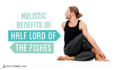 Do you feel like something's up with your digestion? Try out some twists for relief, and get more holistic benefits of Half Lord of the Fishes Pose here!