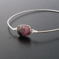 frosted willow bangle