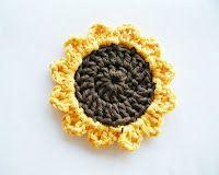 Sunflowers. Free Crochet Pattern.