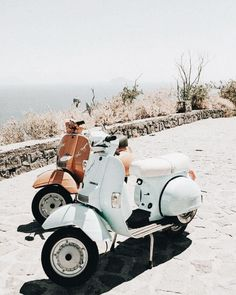 vespas on the beach. vespas on the beach. vespas on the beach.