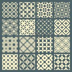 motif géométrique: Seamless pattern