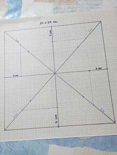 Aprende Patchwork Fácil: Tutorial el Molinillo Quilt Block Patterns, Pattern Blocks, Quilt Blocks, Barn Quilt Designs, Quilting Designs, Pinwheel Quilt, Patch Quilt, Handmade Pillows, Paper Piecing