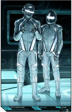 Check out Tron: Legacy concept art by Steve Jung! The costumes on the Tron sequel are legendary and one of the co-costume designers, .