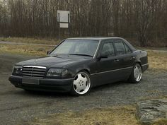 A modified W124 Mercedes from Norway