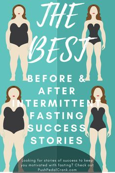 16/8 Intermittent Fasting Success Stories - Follow the successes other women have had following the 16/8 Fasting Diet! Get Inspired!