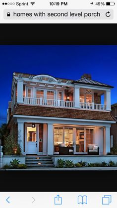 Traditional Exterior of Home - Find more amazing designs on Zillow on home house night, window house night, bedroom night, landscaping house night, water house night, kitchen night, bathroom night,