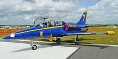 Aero Vodochody L-39 Albatros de couleurs Blue Angels, Fun Sun'n airshow