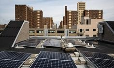 THE GUARDIAN : Rooftop solar at Marcus Garvey Village, Brooklyn, NYC