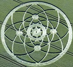 Crop Circle at Hackpen Hill, Nr Broad Hinton, Wiltshire, United Kingdom. Report 15th July 2013