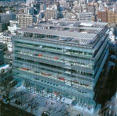 ArtChist: Sendai Mediatheque en Tokio | Toyo Ito | Peculiari...