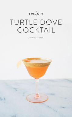 Turtle Dove Cocktail Recipe