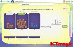 A beautifully designed set of maths whiteboard resource aimed at primary aged students. There are resources about addition, multiplying fractions, number lines and more. Kindergarten Math, School Classroom, School Fun, Teaching Math, Maths, School Stuff, School Ideas, Classroom Ideas, Interactive Websites