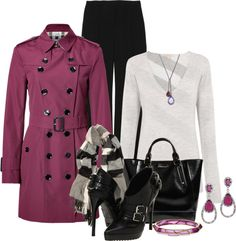 """""""Burberry London Trench II"""" by brendariley-1 on Polyvore"""