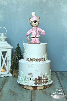 Zimná.. torta, Autorka: Lorna, Tortyodmamy.sk