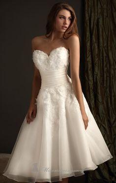 short wedding dresses <3
