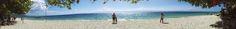 Panorama photo of Lambug Beach. Details at https://laagannacebuana.wordpress.com/2015/04/25/weekend-project-lambug-beach/