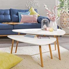 Trend Beistelltische Wohnzimmer daheim de von Segm ller