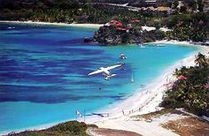 St Barts Island - St Jean beach amazing to be on the beach with planes landing