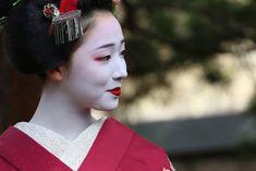 November 2015: senior maiko Mamefuji of Gion Kobu by susanoo on Ganref