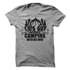 This Guy Loves Camping With His Wife