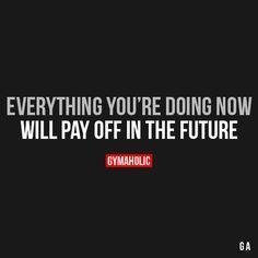 Ik geloof dat als je jezelf rond deze leeftijd pushed om dingen te doen waarvan je later van profiteert je dat later ook veel meer gaat waarderen.