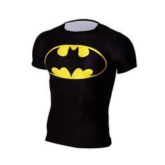 e2881956 Men Short Sleeve T-shirt Marvel The Avenger Super Hero The Avengers Batman  Tops