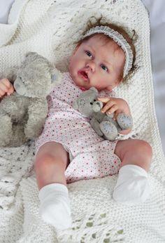 Realistic Baby Dolls, Reborn Babies, Beautiful Dolls, Fashion Dolls, Dreams, Handmade, Bebe, Cute Dolls, Hand Made